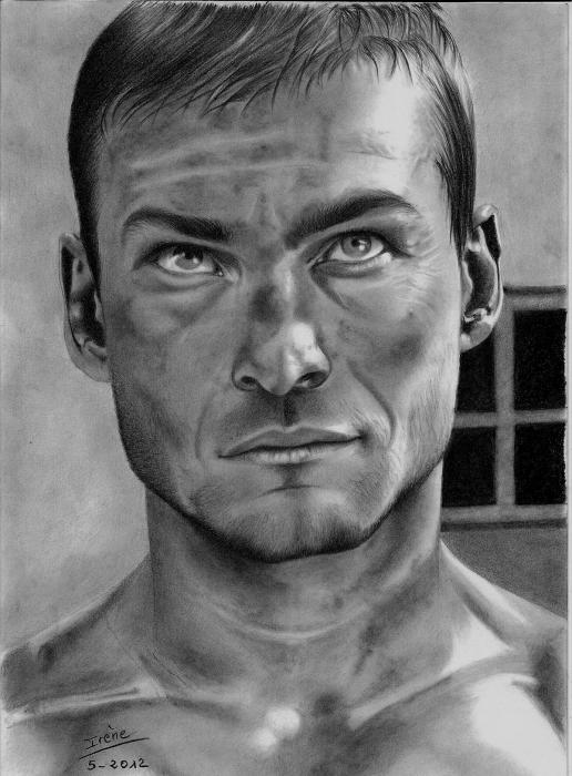 Andy Whitfield by peggy